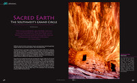 Elan Magazine - Sacrad Earth, The Southwest's Grand Circle - pp. 48-49